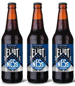 Cerveza IPA artesanal mexicana Eliot Ness
