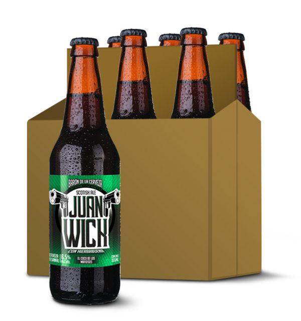 juan wick cerveza artesanal mexicana scotish ale