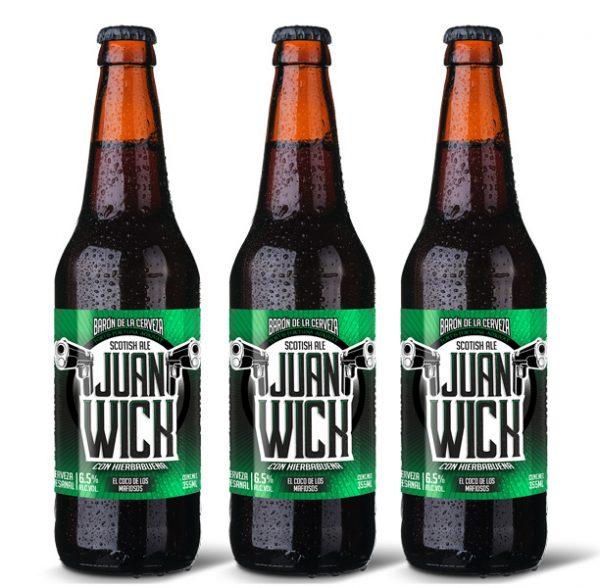 scotish ale cerveza artesanal mexicana JuanWick