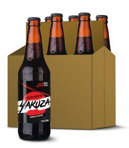 six de cervezas artesanales yakuza sabor te chai